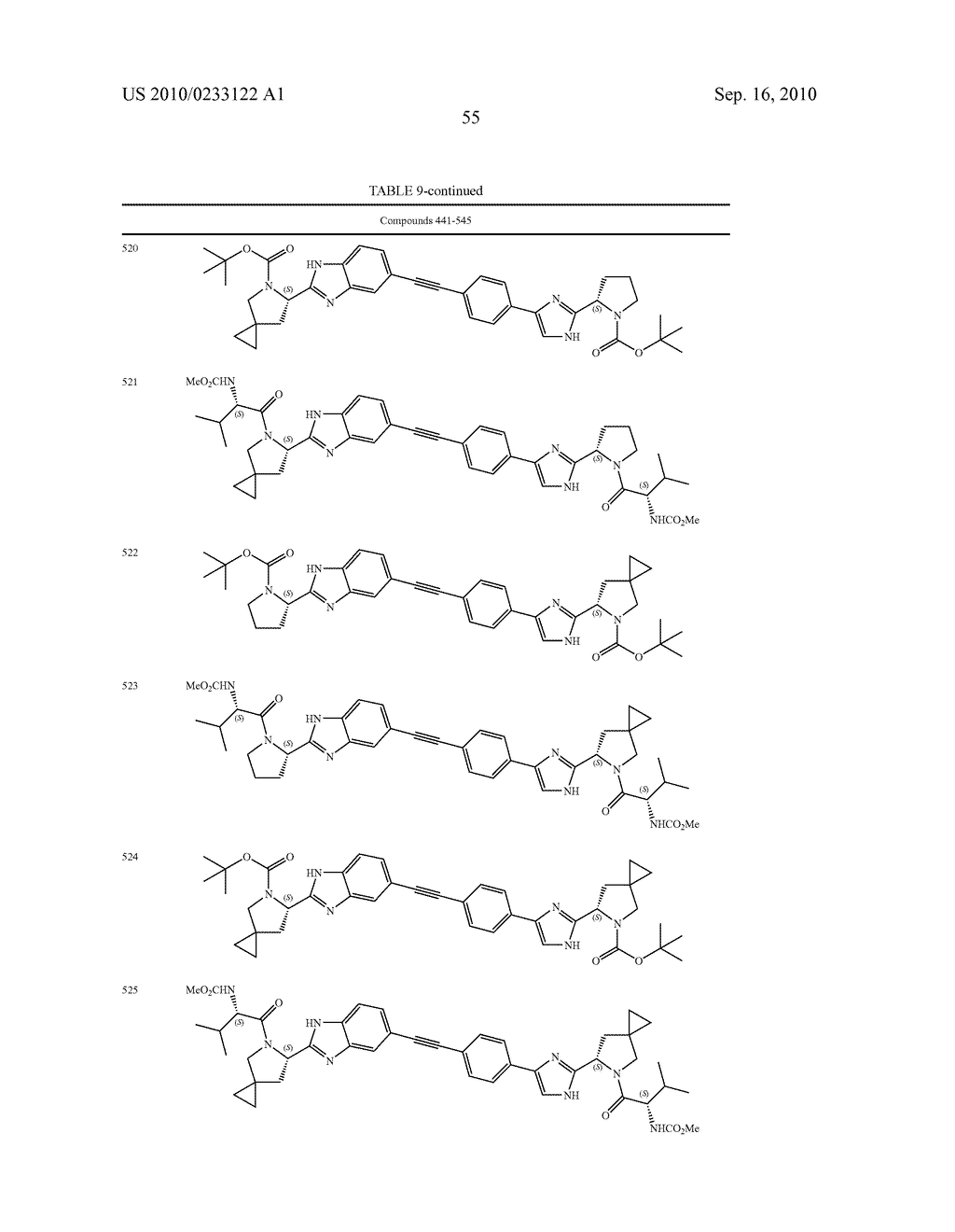 NOVEL BENZIMIDAZOLE DERIVATIVES - diagram, schematic, and image 56