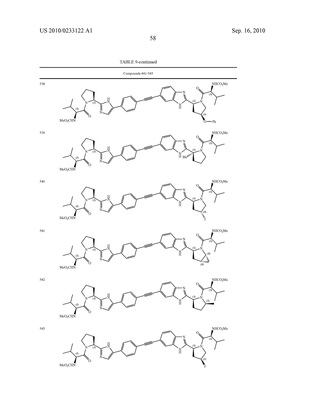 NOVEL BENZIMIDAZOLE DERIVATIVES - diagram, schematic, and image 59