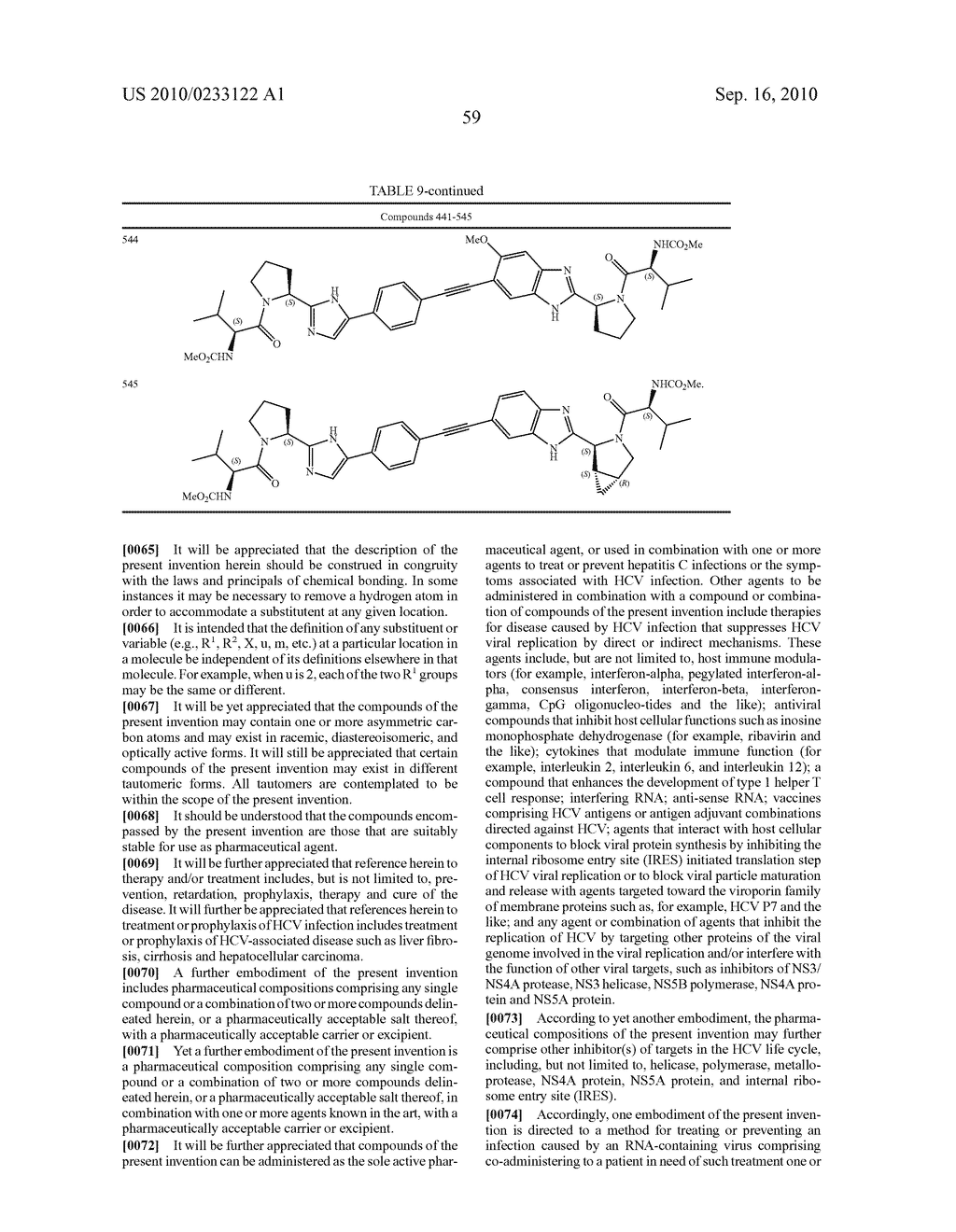 NOVEL BENZIMIDAZOLE DERIVATIVES - diagram, schematic, and image 60