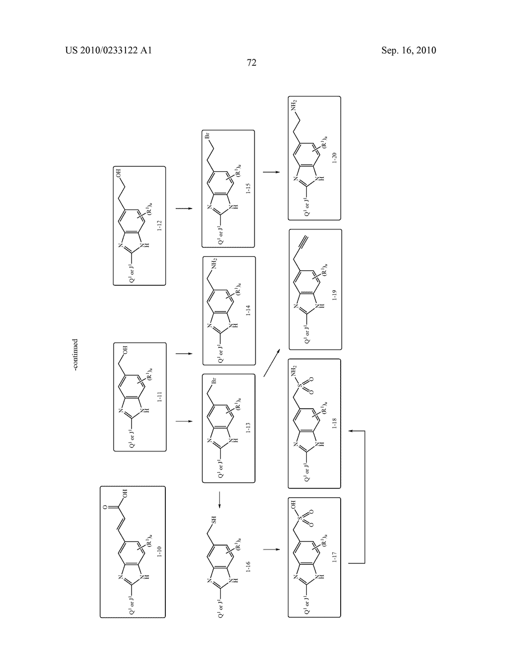 NOVEL BENZIMIDAZOLE DERIVATIVES - diagram, schematic, and image 73