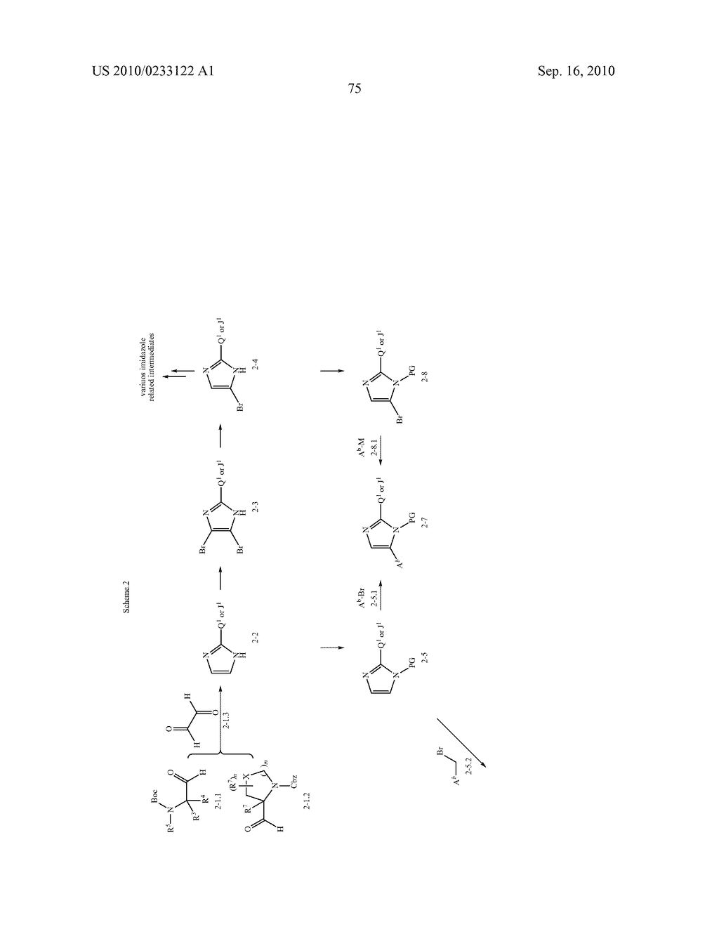 NOVEL BENZIMIDAZOLE DERIVATIVES - diagram, schematic, and image 76