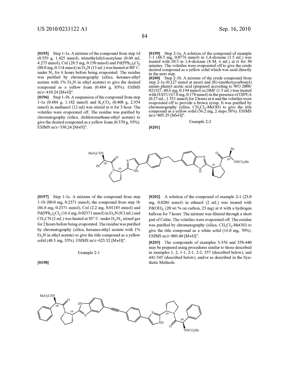 NOVEL BENZIMIDAZOLE DERIVATIVES - diagram, schematic, and image 85
