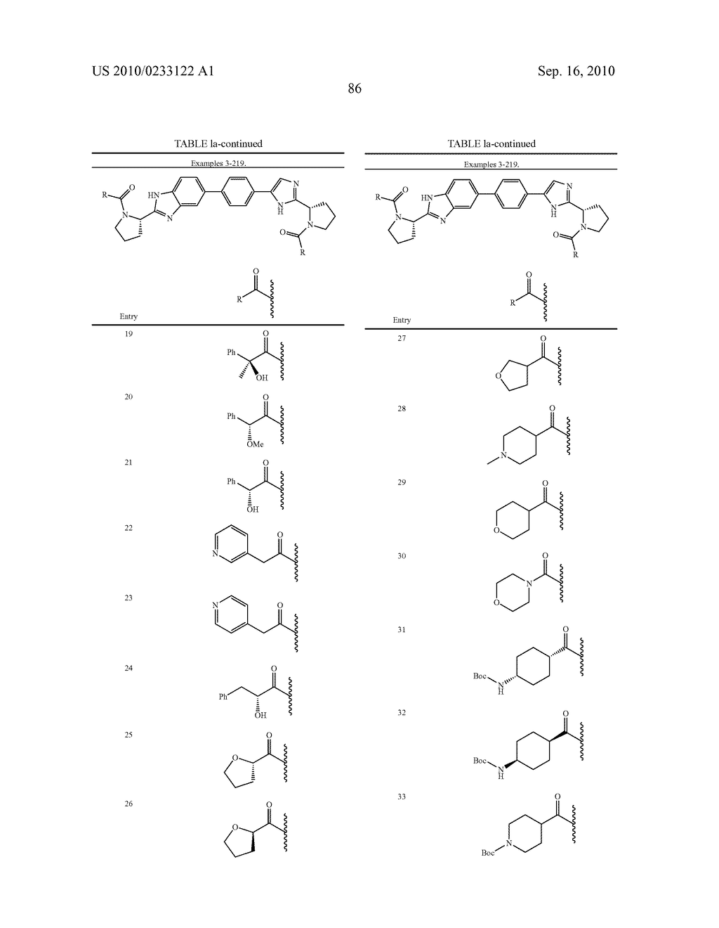 NOVEL BENZIMIDAZOLE DERIVATIVES - diagram, schematic, and image 87