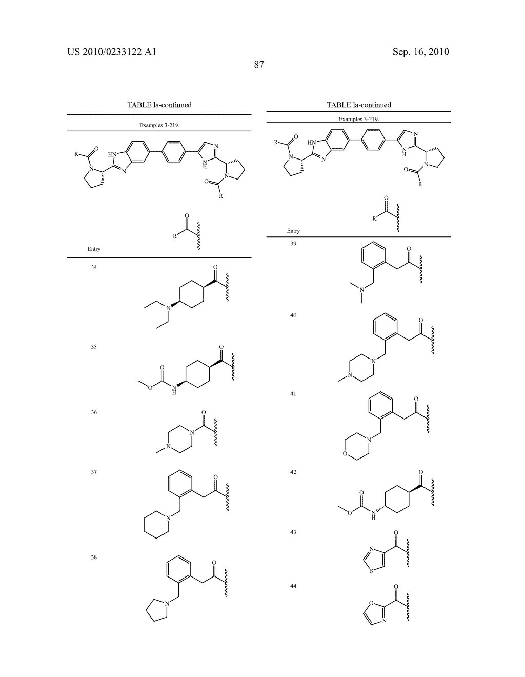 NOVEL BENZIMIDAZOLE DERIVATIVES - diagram, schematic, and image 88