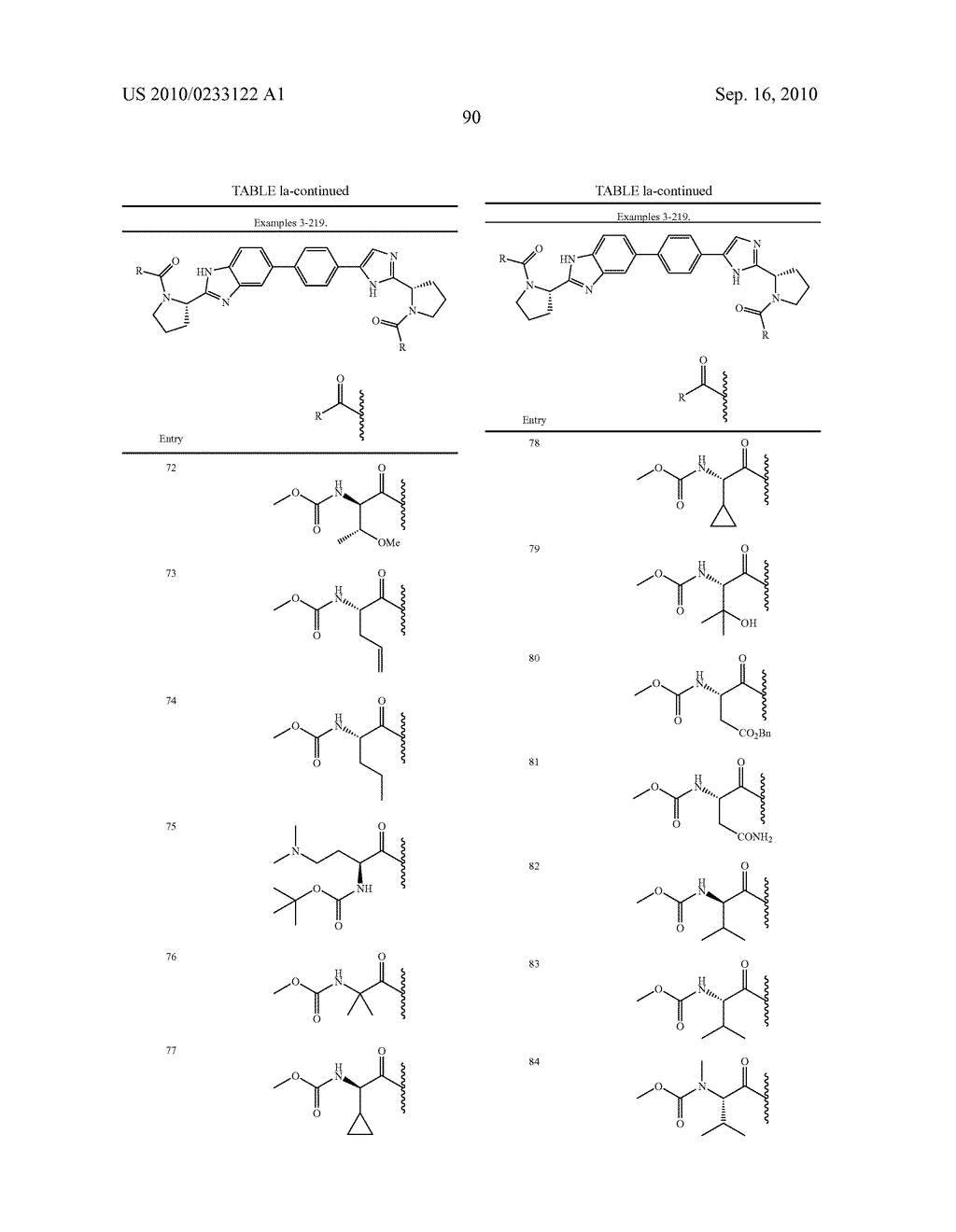 NOVEL BENZIMIDAZOLE DERIVATIVES - diagram, schematic, and image 91