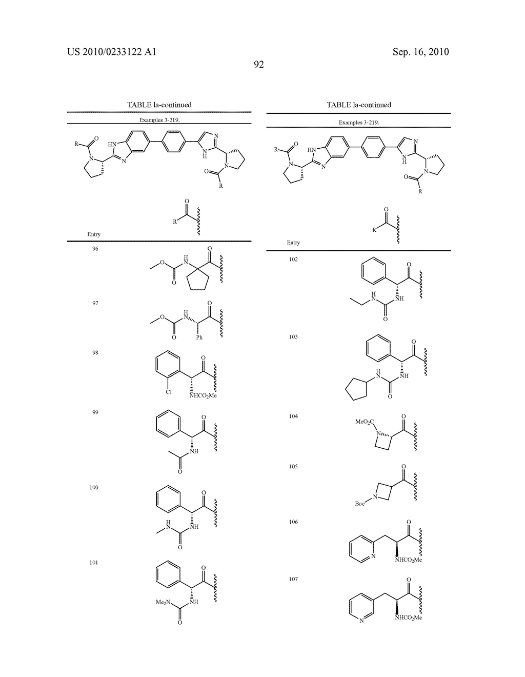 NOVEL BENZIMIDAZOLE DERIVATIVES - diagram, schematic, and image 93