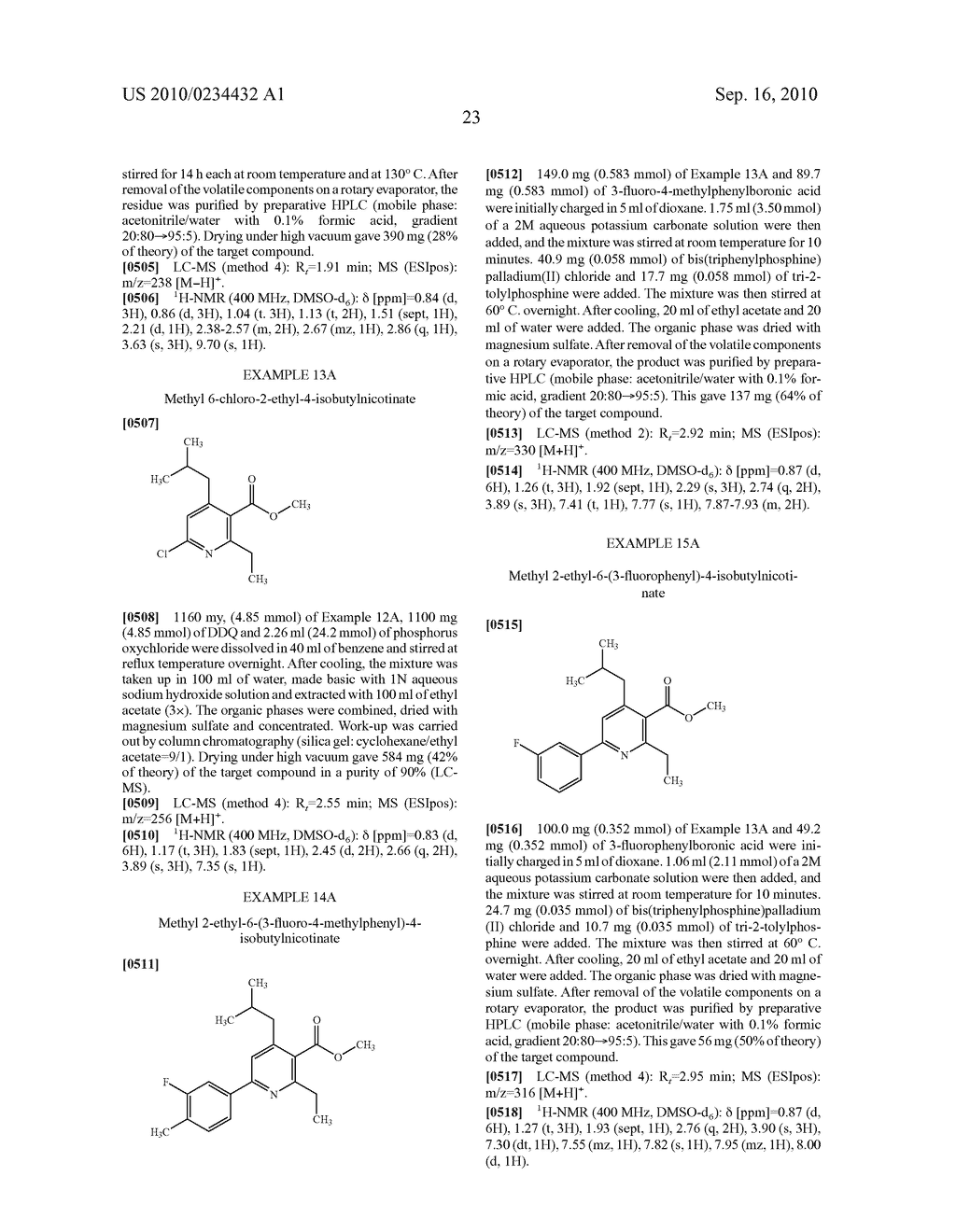 Substituted 6-phenylnicotinic acids and their use - diagram, schematic, and image 24