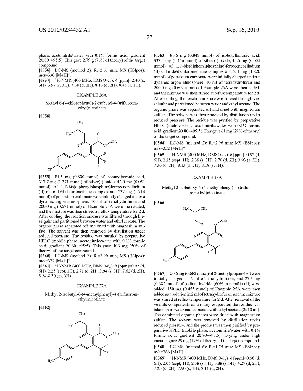 Substituted 6-phenylnicotinic acids and their use - diagram, schematic, and image 28