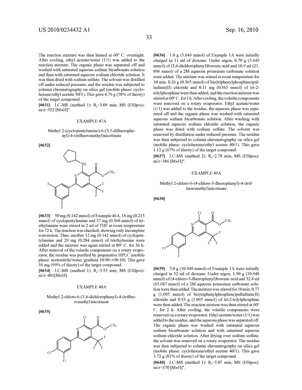 Substituted 6-phenylnicotinic acids and their use - diagram, schematic, and image 34