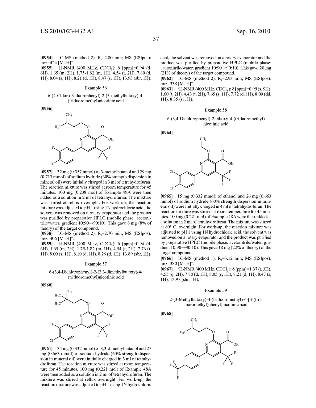 Substituted 6-phenylnicotinic acids and their use - diagram, schematic, and image 58