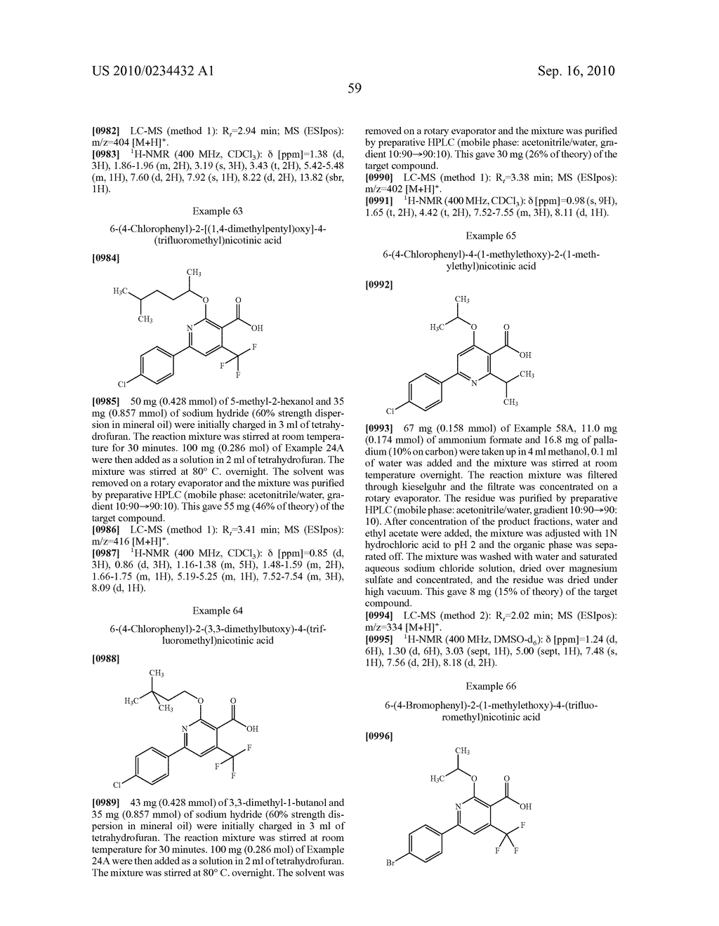 Substituted 6-phenylnicotinic acids and their use - diagram, schematic, and image 60