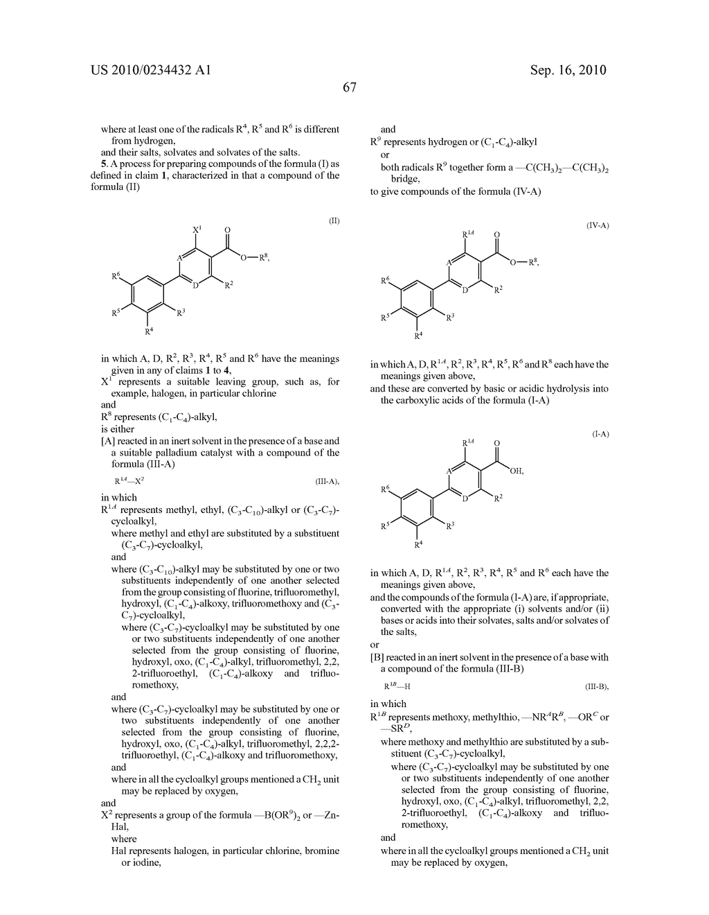 Substituted 6-phenylnicotinic acids and their use - diagram, schematic, and image 68