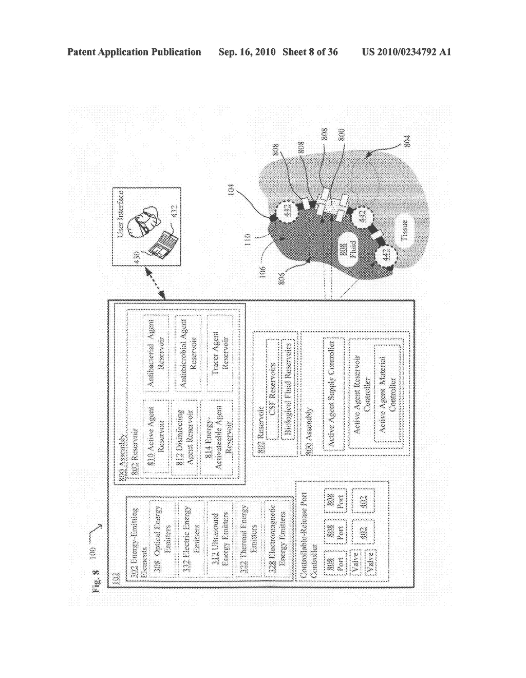 Systems, devices, and methods including infection-fighting and monitoring shunts - diagram, schematic, and image 09