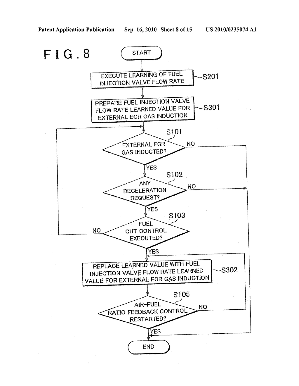 DEVICE AND METHOD FOR CONTROLLING INTERNAL COMBUSTION ENGINE - diagram, schematic, and image 09