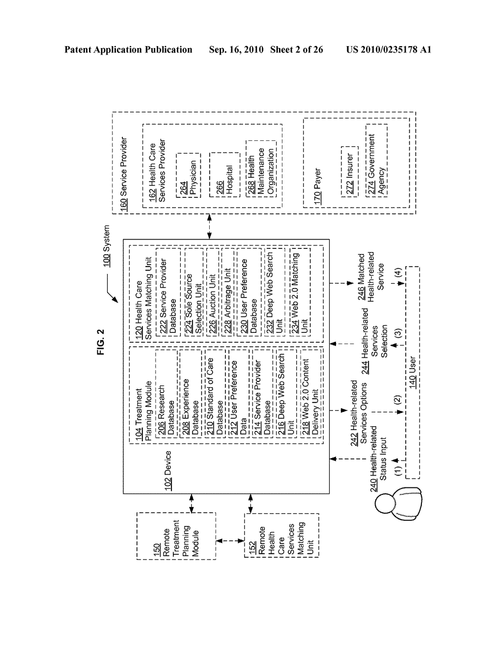 Computational systems and methods for health services planning and matching - diagram, schematic, and image 03