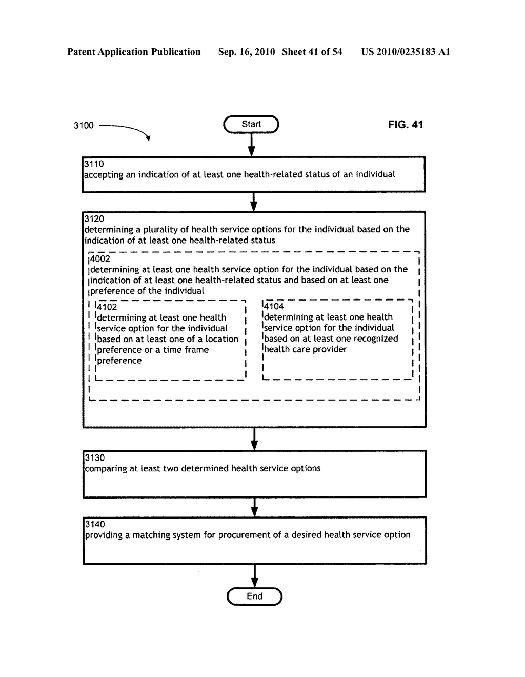 Computational systems and methods for health services planning and matching - diagram, schematic, and image 42