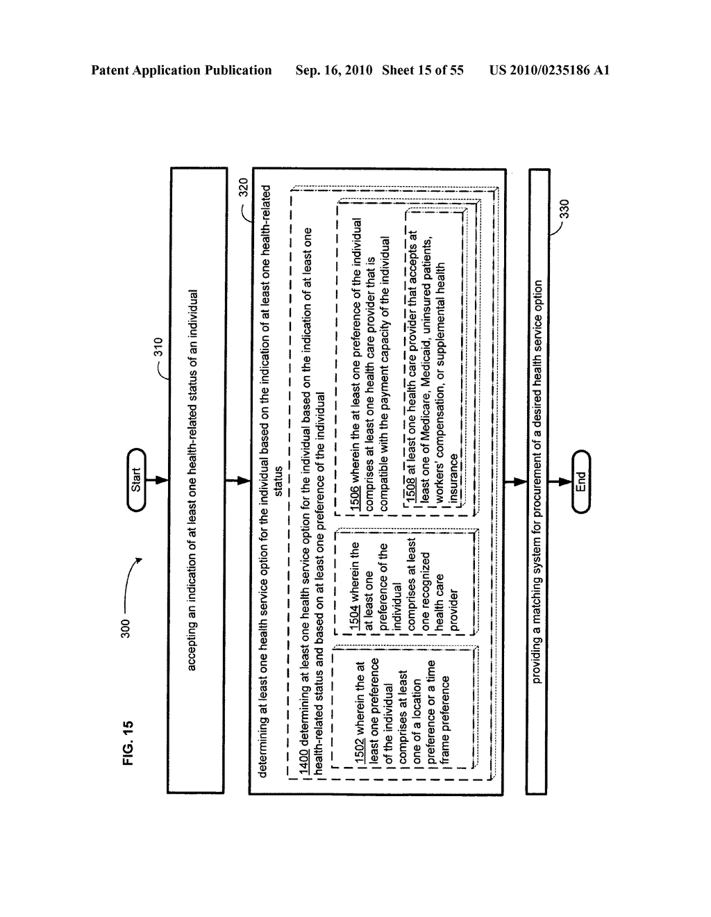 Computational systems and methods for health services planning and matching - diagram, schematic, and image 16