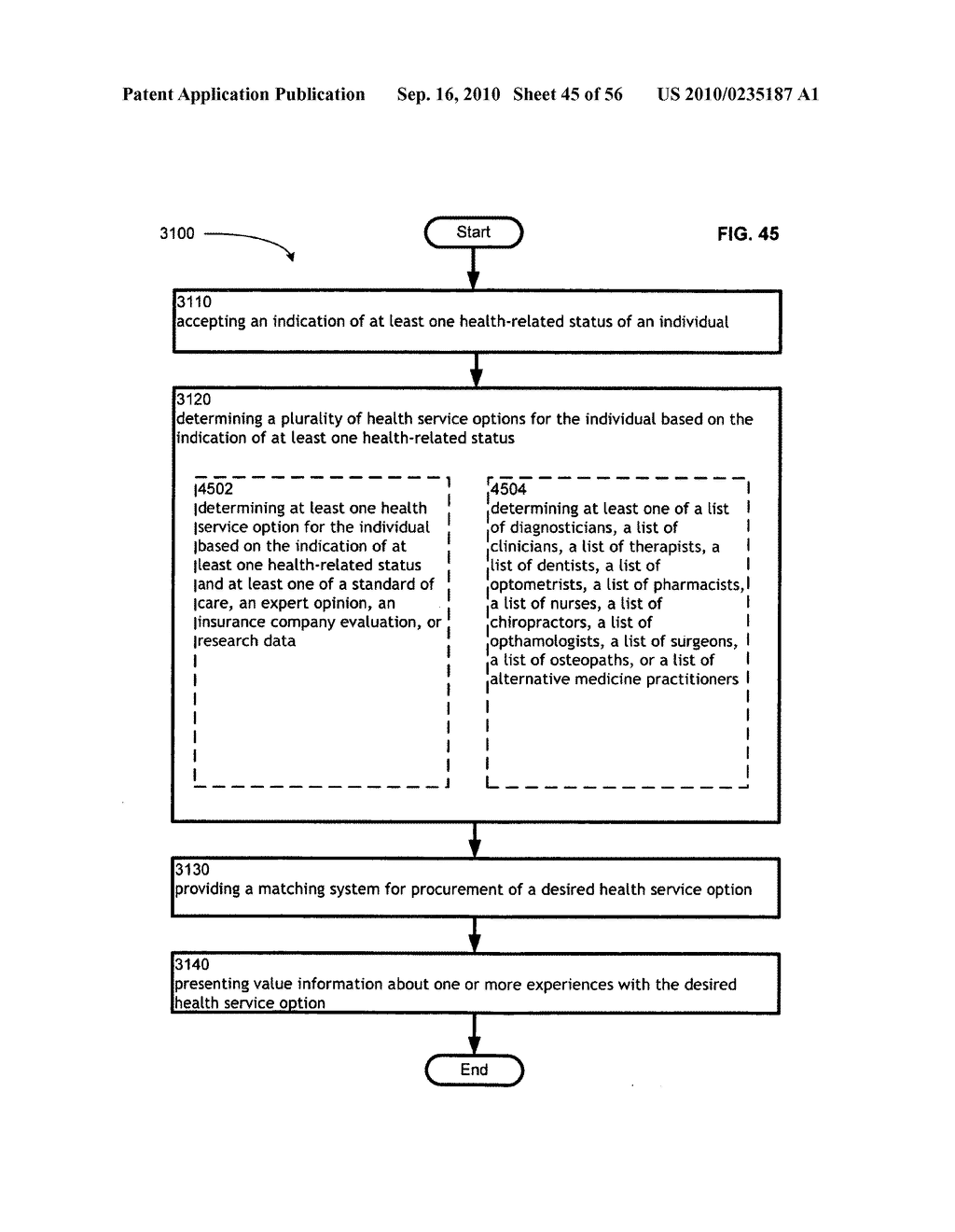 Computational systems and methods for health services planning and matching - diagram, schematic, and image 46