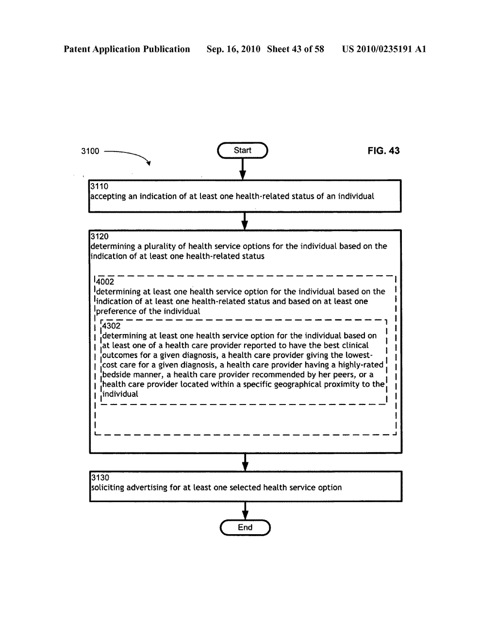 Computational systems and methods for health services planning and matching - diagram, schematic, and image 44