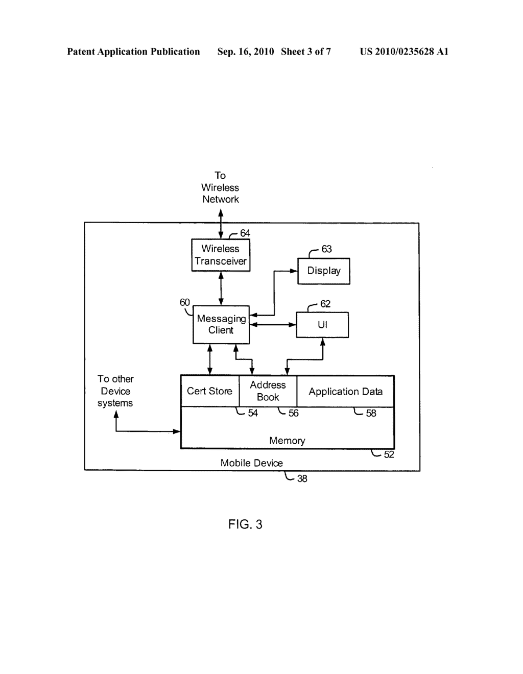 System and Method for Accessing Keys for Secure Messaging - diagram, schematic, and image 04