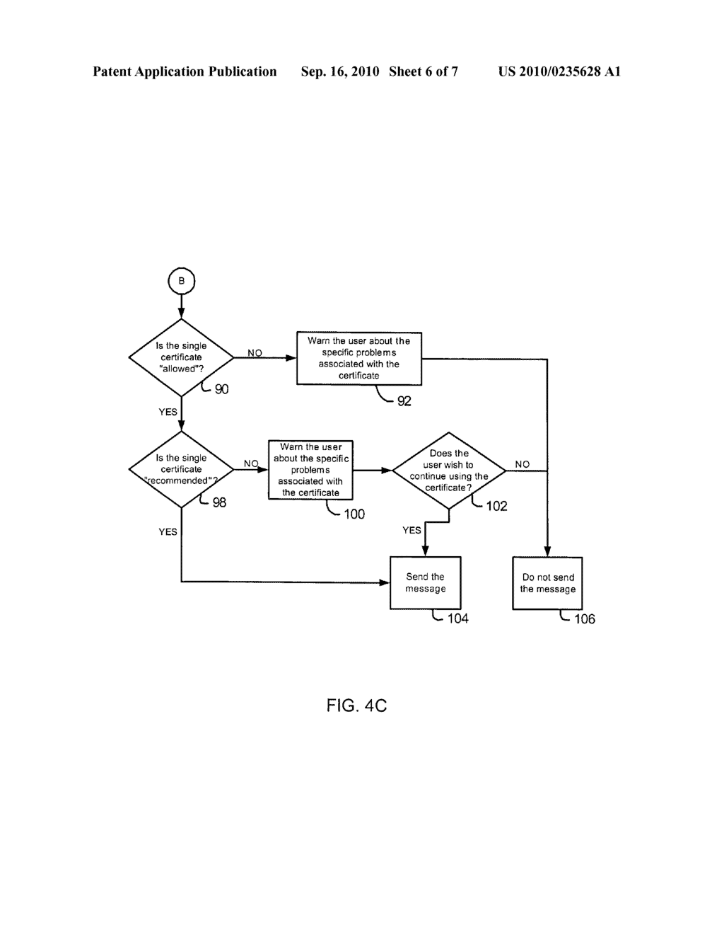 System and Method for Accessing Keys for Secure Messaging - diagram, schematic, and image 07