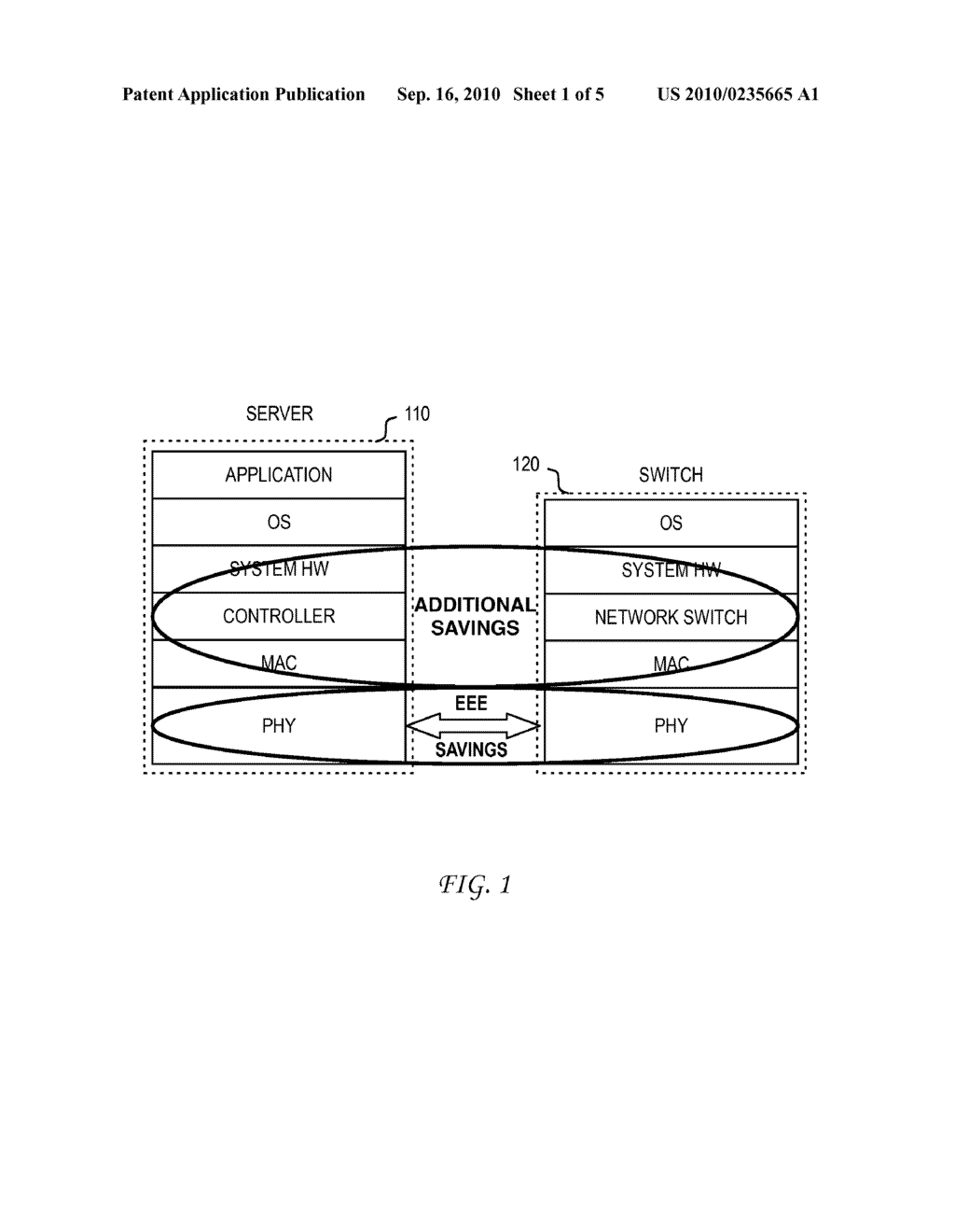 System and Method for Enabling Fallback States for Energy Efficient Ethernet - diagram, schematic, and image 02
