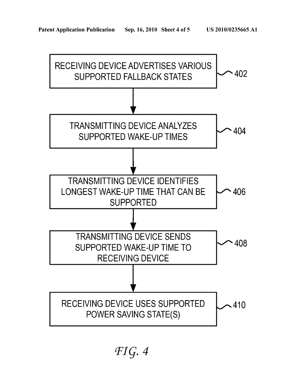 System and Method for Enabling Fallback States for Energy Efficient Ethernet - diagram, schematic, and image 05