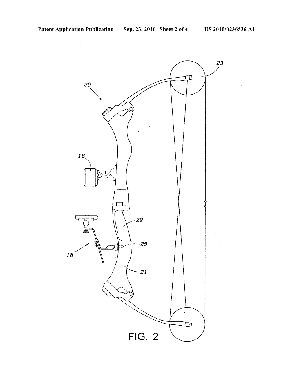 Archery Bow Bracket - diagram, schematic, and image 03