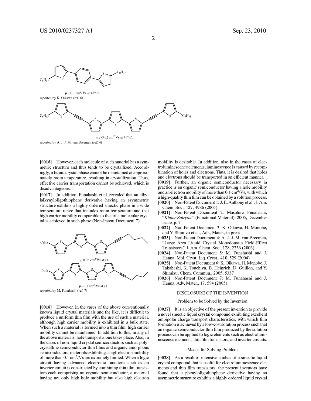SMECTIC LIQUID CRYSTAL COMPOUND - diagram, schematic, and image 10