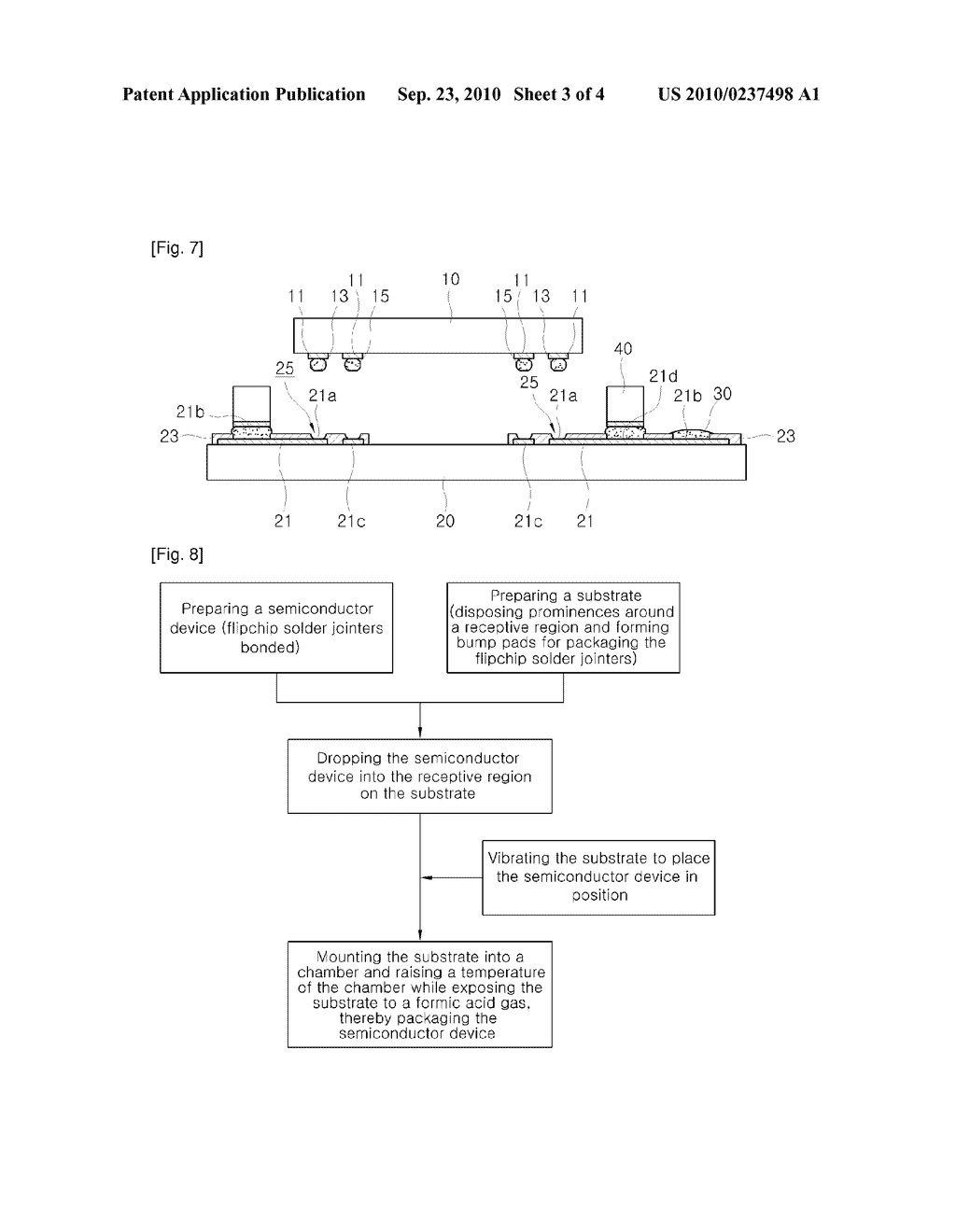 PACKAGE FOR SEMICONDUCTOR DEVICE AND PACKAGING METHOD THEREOF - diagram, schematic, and image 04