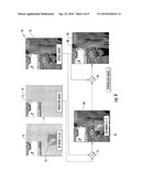 GEOSPATIAL MODELING SYSTEM FOR COLORIZING IMAGES AND RELATED METHODS diagram and image