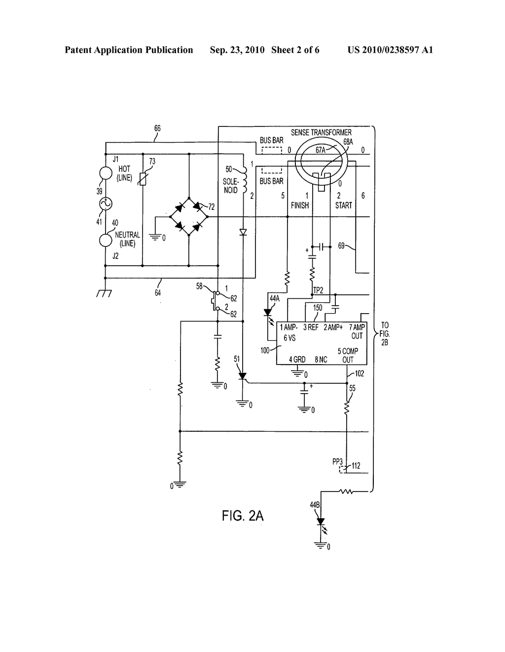 Self Testing Ground Fault Circuit Interrupter Gfci With End Of Interrupters Life Eol Detection That Rejects False Information Diagram Schematic And Image 03