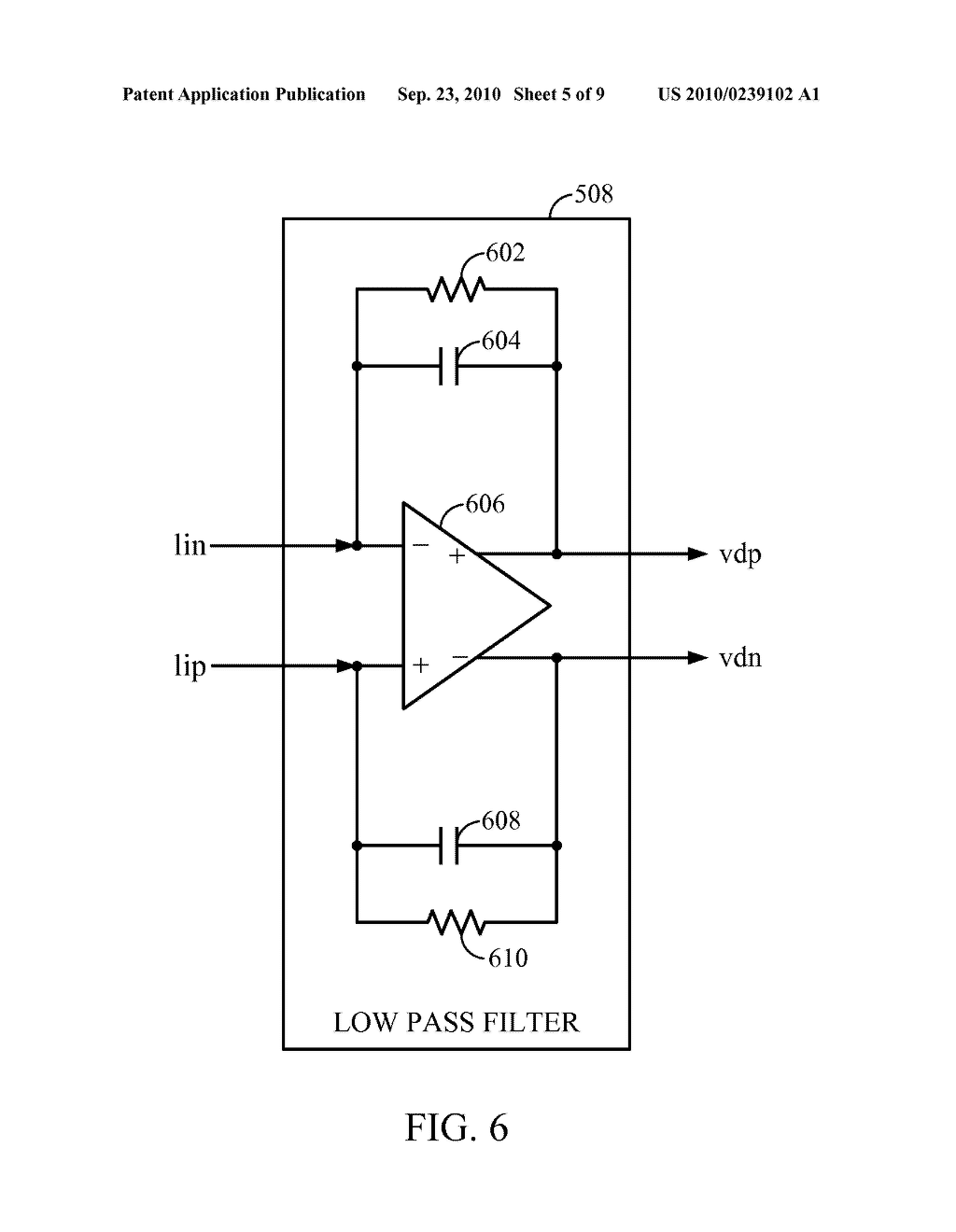 DIGITAL FILTERING IN A CLASS D AMPLIFIER SYSTEM TO REDUCE NOISE FOLD OVER - diagram, schematic, and image 06