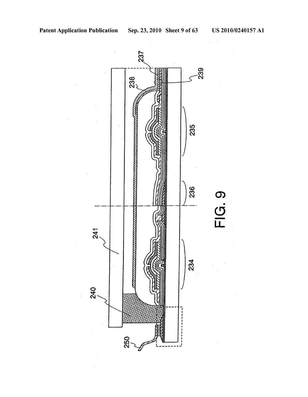 DISPLAY DEVICE, MANUFACTURING METHOD THEREOF, AND TELEVISION RECEIVER - diagram, schematic, and image 10