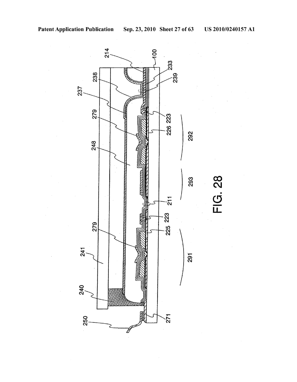 DISPLAY DEVICE, MANUFACTURING METHOD THEREOF, AND TELEVISION RECEIVER - diagram, schematic, and image 28