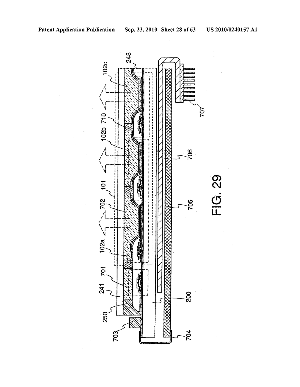 DISPLAY DEVICE, MANUFACTURING METHOD THEREOF, AND TELEVISION RECEIVER - diagram, schematic, and image 29
