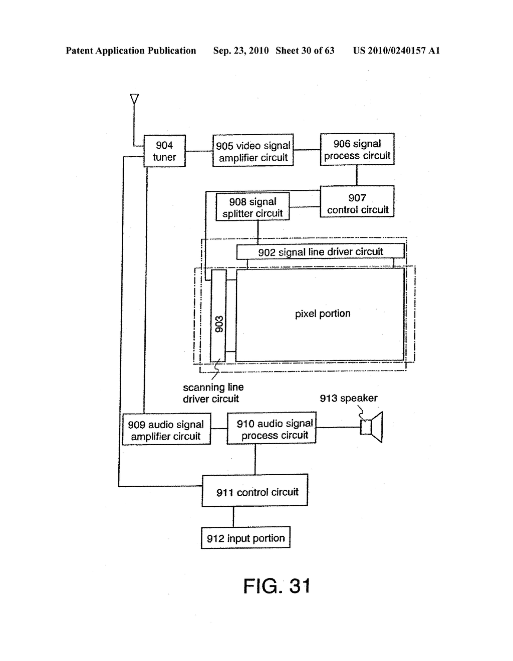 DISPLAY DEVICE, MANUFACTURING METHOD THEREOF, AND TELEVISION RECEIVER - diagram, schematic, and image 31
