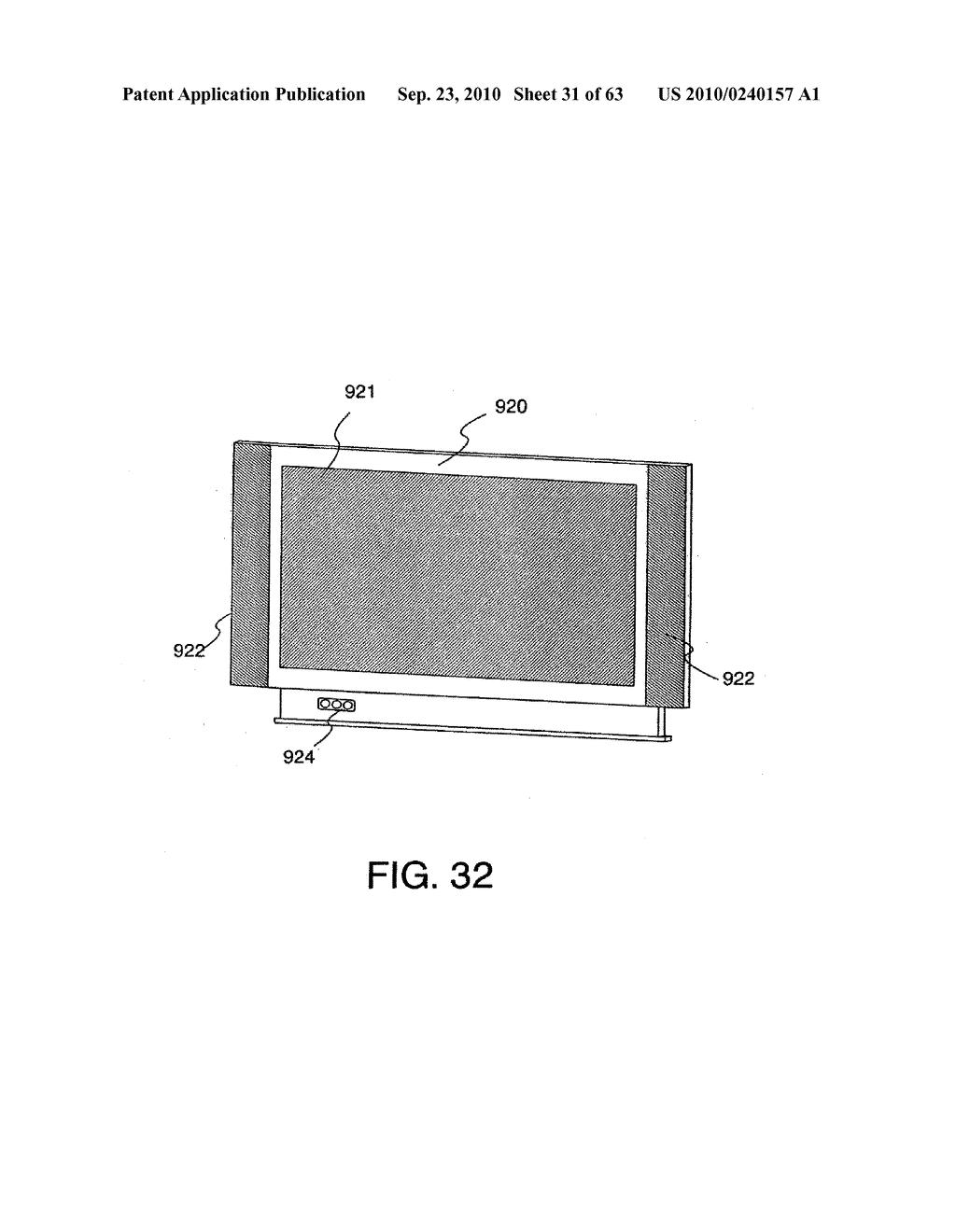 DISPLAY DEVICE, MANUFACTURING METHOD THEREOF, AND TELEVISION RECEIVER - diagram, schematic, and image 32
