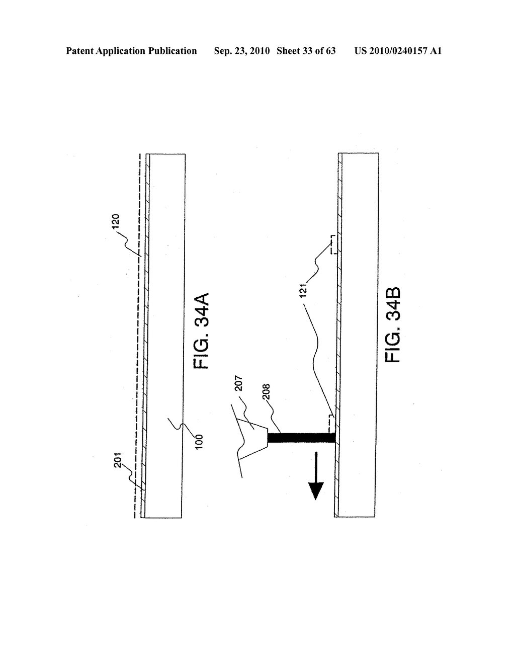 DISPLAY DEVICE, MANUFACTURING METHOD THEREOF, AND TELEVISION RECEIVER - diagram, schematic, and image 34