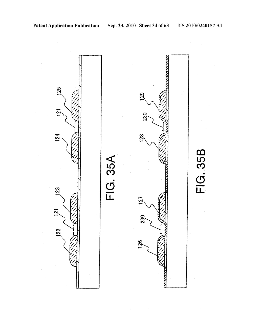 DISPLAY DEVICE, MANUFACTURING METHOD THEREOF, AND TELEVISION RECEIVER - diagram, schematic, and image 35
