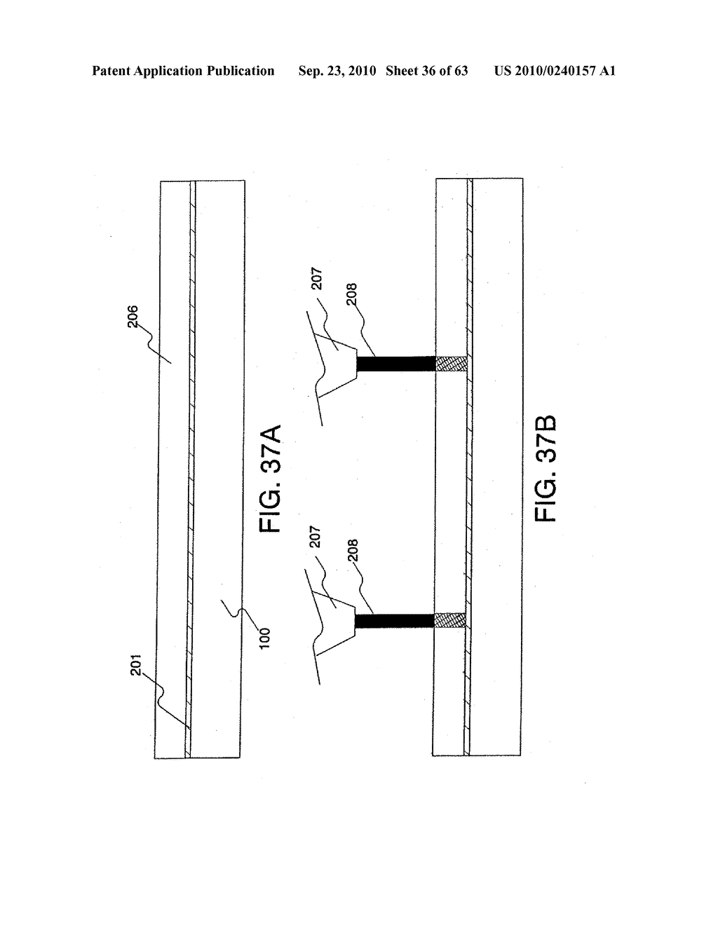 DISPLAY DEVICE, MANUFACTURING METHOD THEREOF, AND TELEVISION RECEIVER - diagram, schematic, and image 37