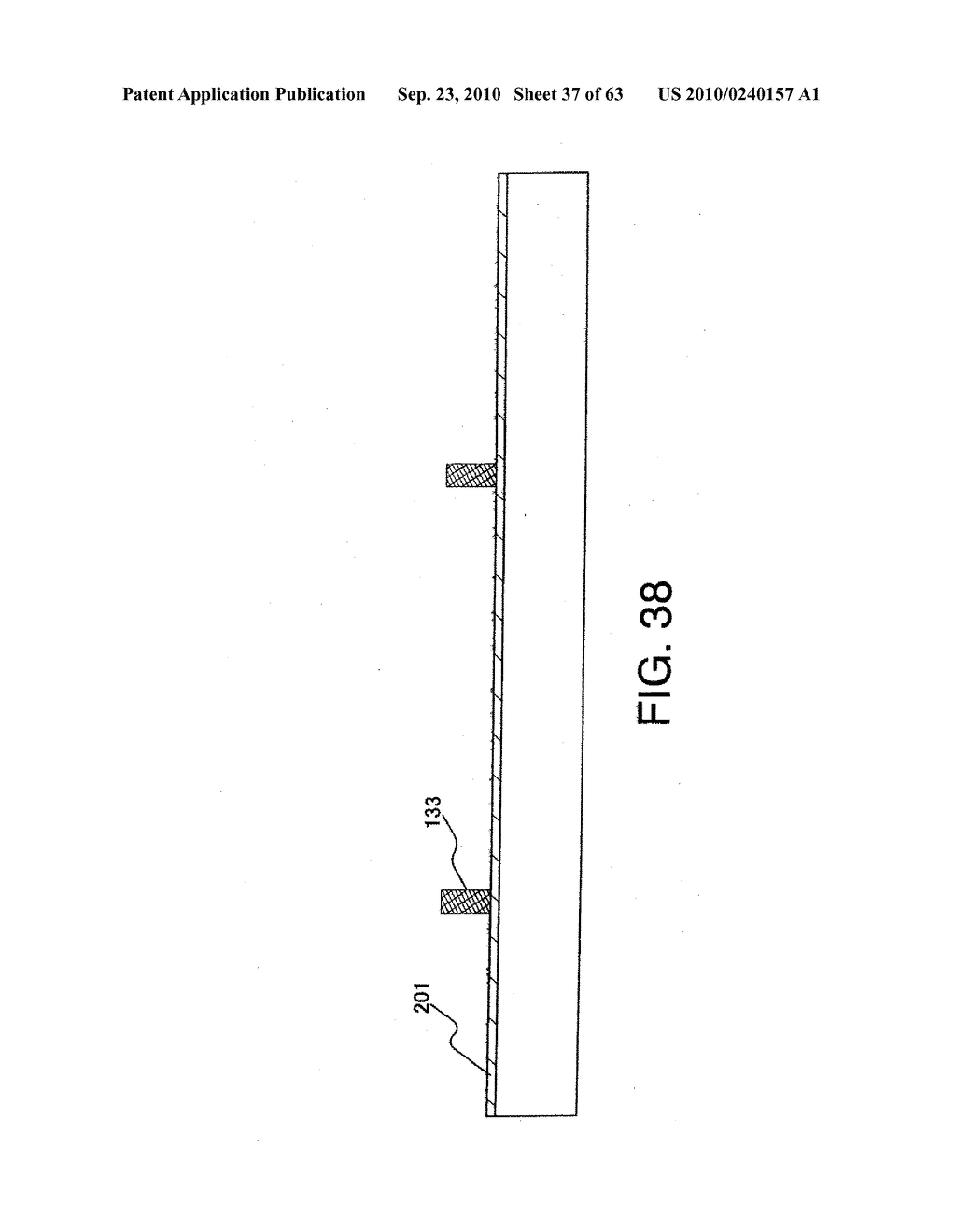 DISPLAY DEVICE, MANUFACTURING METHOD THEREOF, AND TELEVISION RECEIVER - diagram, schematic, and image 38