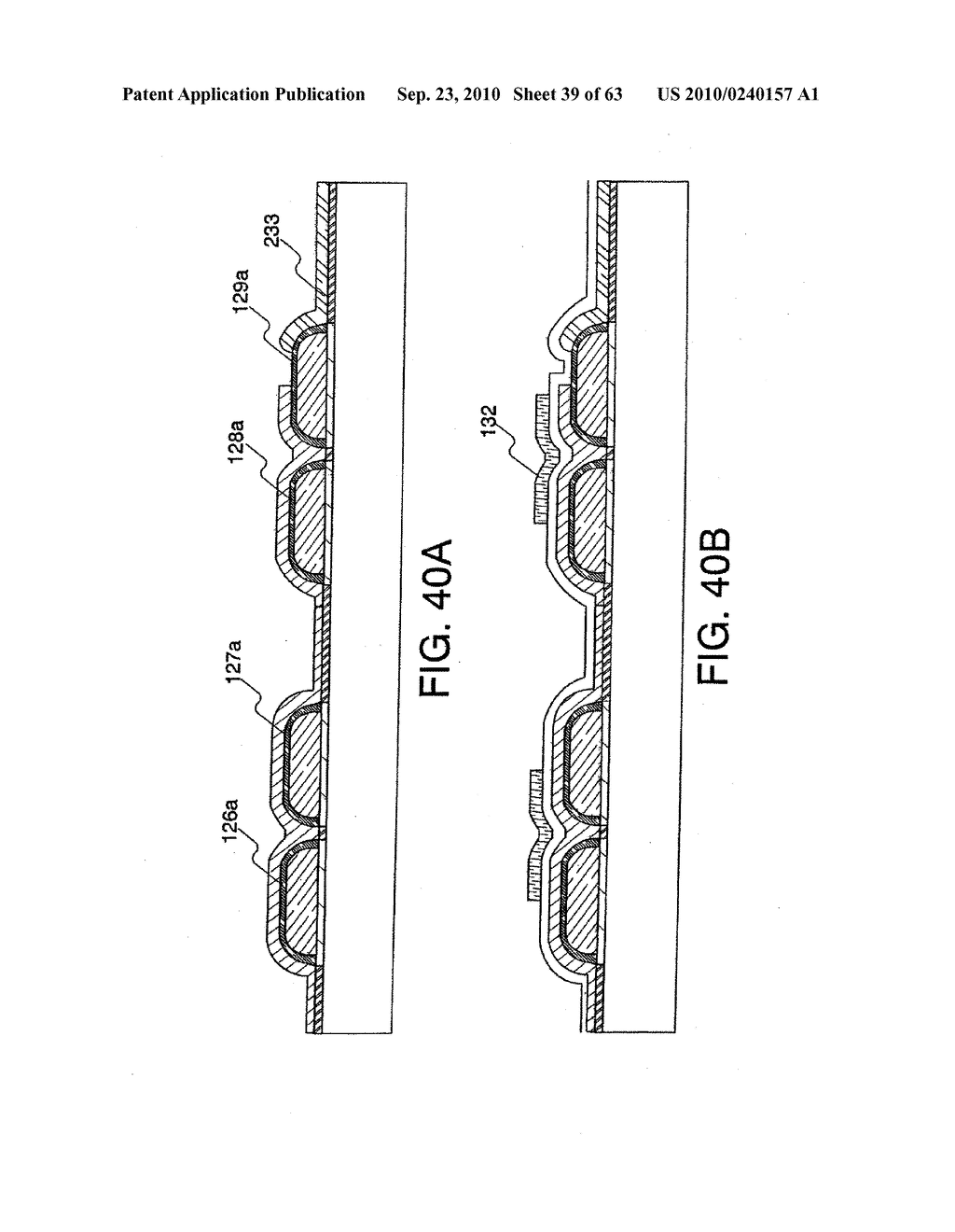 DISPLAY DEVICE, MANUFACTURING METHOD THEREOF, AND TELEVISION RECEIVER - diagram, schematic, and image 40