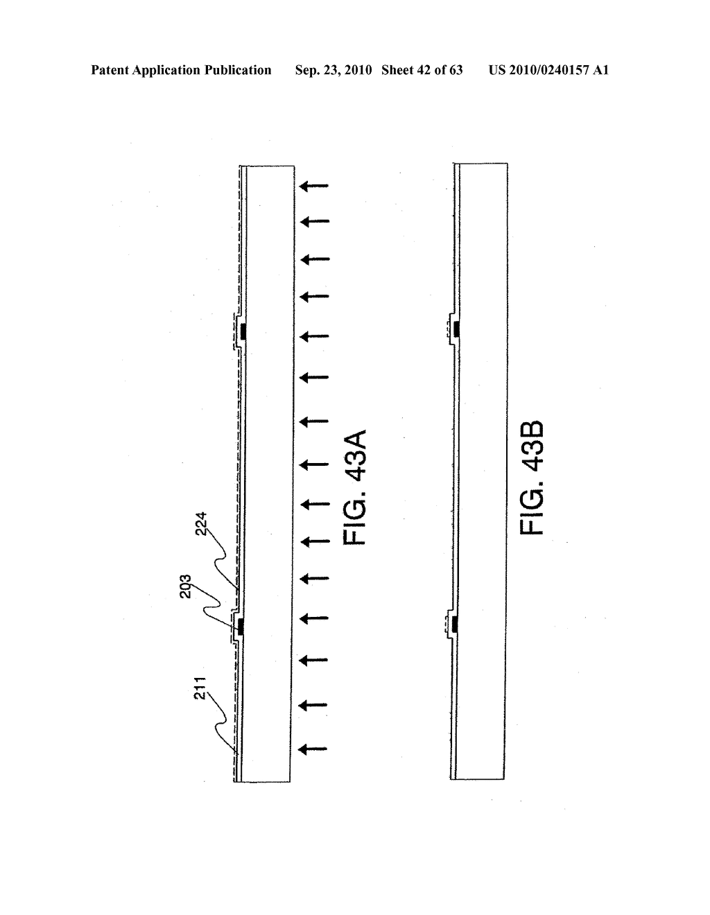 DISPLAY DEVICE, MANUFACTURING METHOD THEREOF, AND TELEVISION RECEIVER - diagram, schematic, and image 43