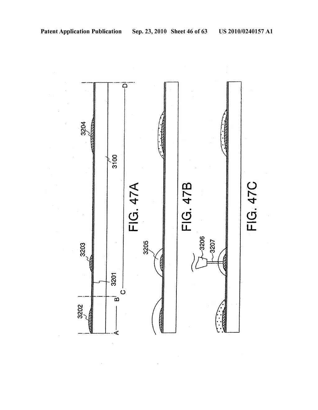 DISPLAY DEVICE, MANUFACTURING METHOD THEREOF, AND TELEVISION RECEIVER - diagram, schematic, and image 47