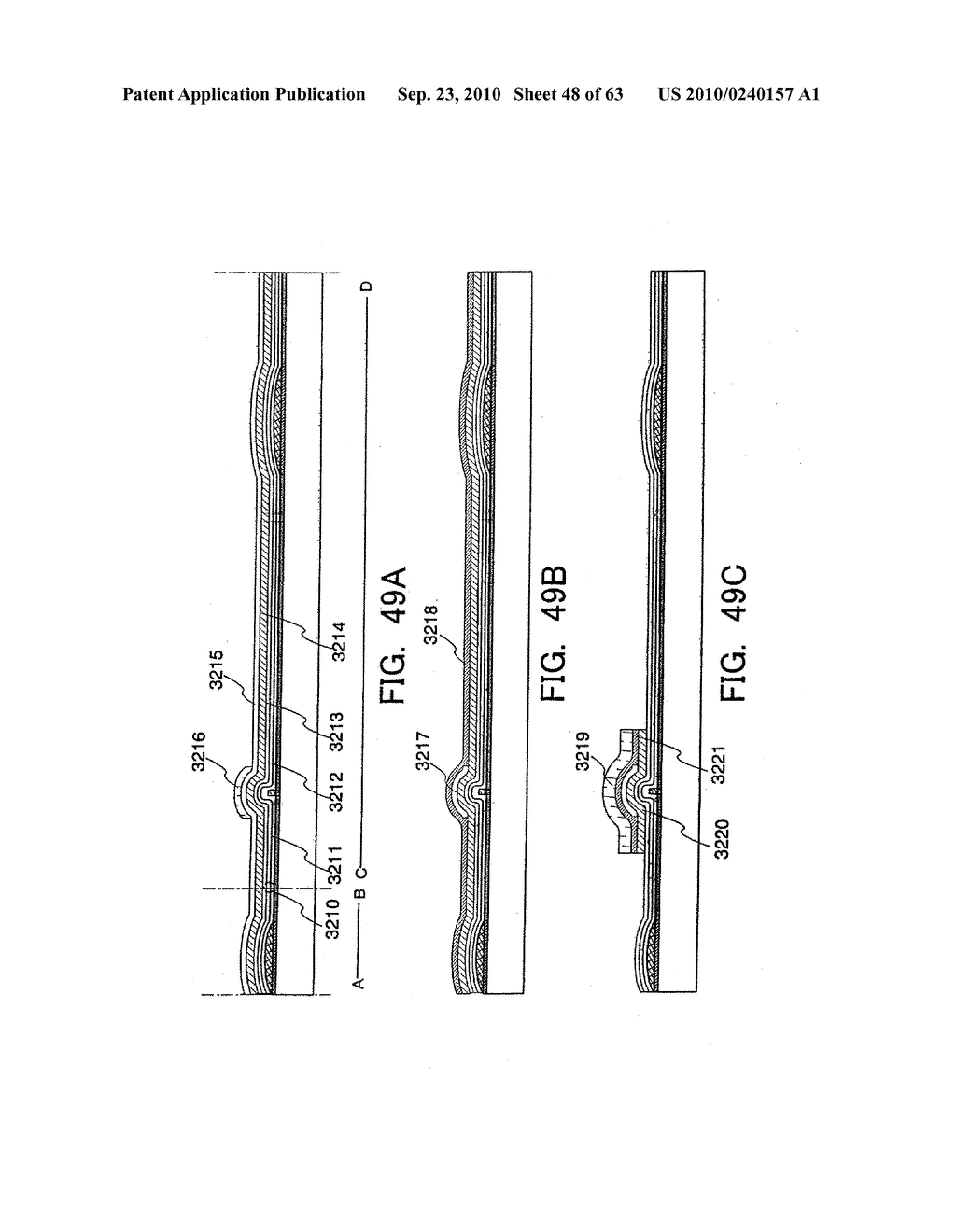 DISPLAY DEVICE, MANUFACTURING METHOD THEREOF, AND TELEVISION RECEIVER - diagram, schematic, and image 49