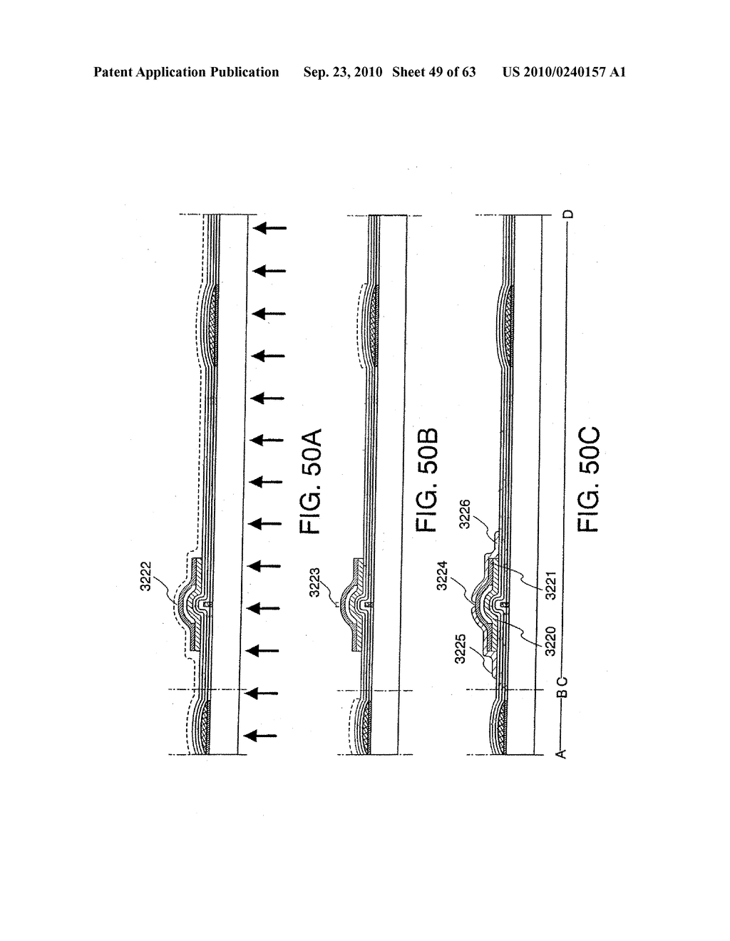 DISPLAY DEVICE, MANUFACTURING METHOD THEREOF, AND TELEVISION RECEIVER - diagram, schematic, and image 50
