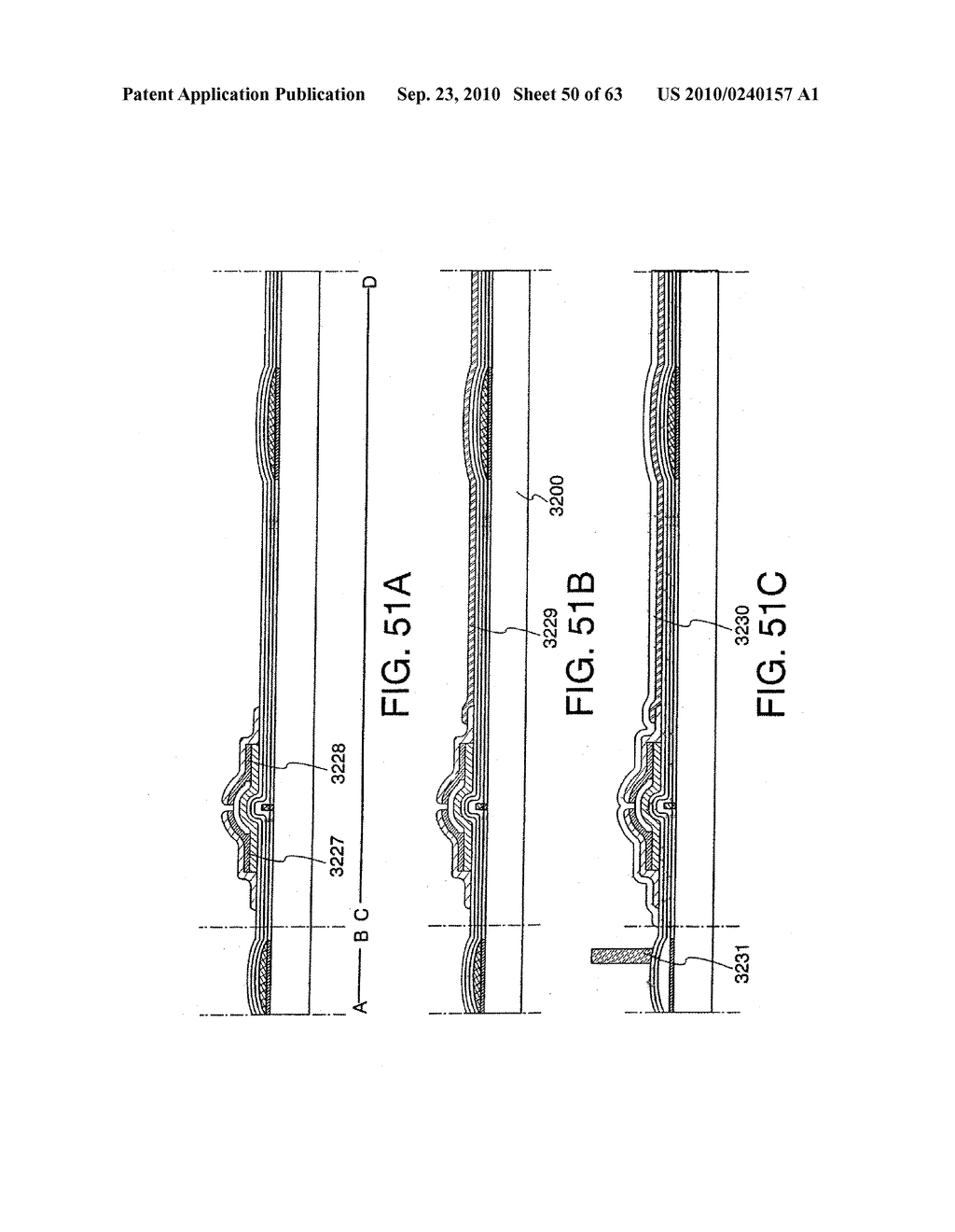 DISPLAY DEVICE, MANUFACTURING METHOD THEREOF, AND TELEVISION RECEIVER - diagram, schematic, and image 51