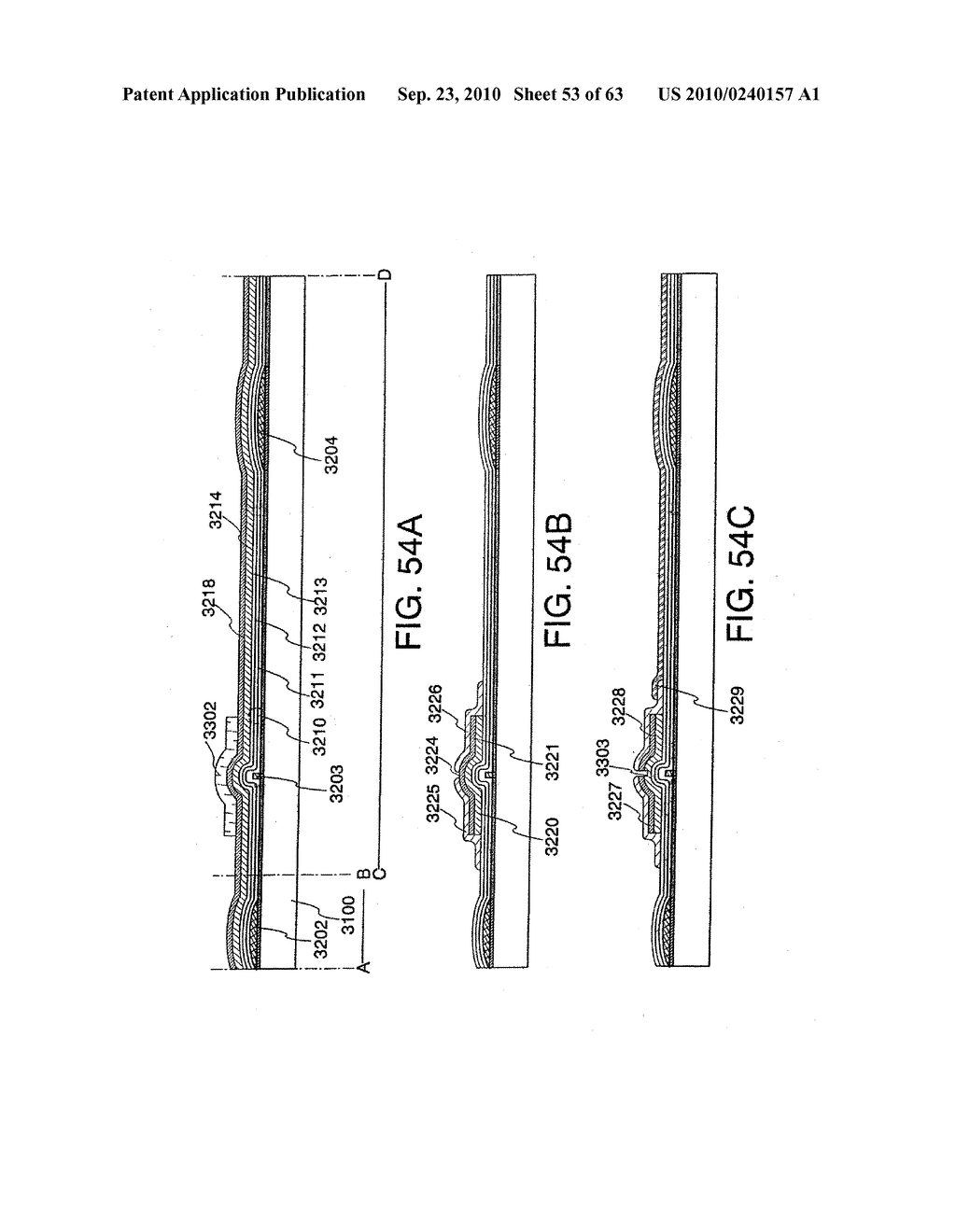 DISPLAY DEVICE, MANUFACTURING METHOD THEREOF, AND TELEVISION RECEIVER - diagram, schematic, and image 54