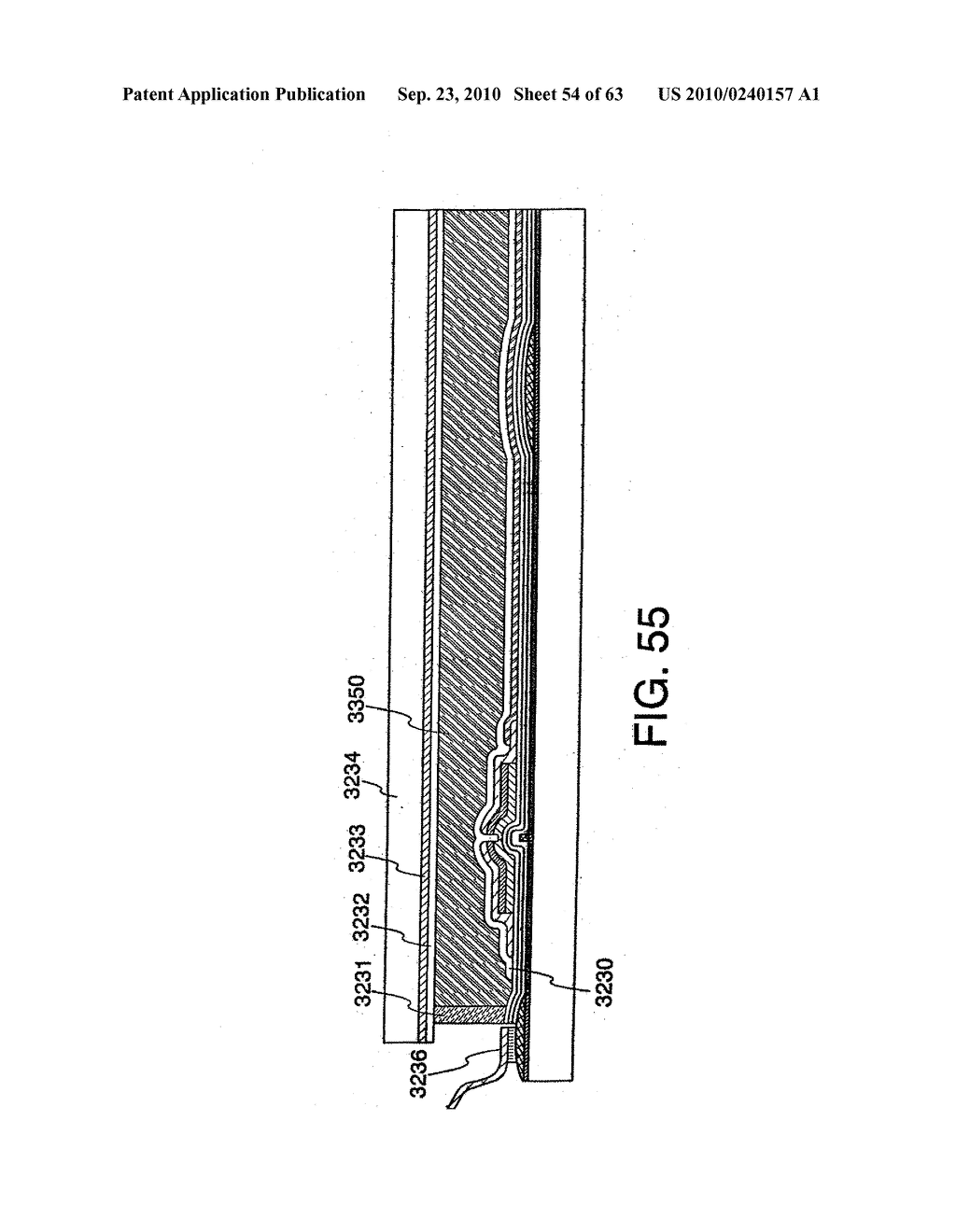 DISPLAY DEVICE, MANUFACTURING METHOD THEREOF, AND TELEVISION RECEIVER - diagram, schematic, and image 55